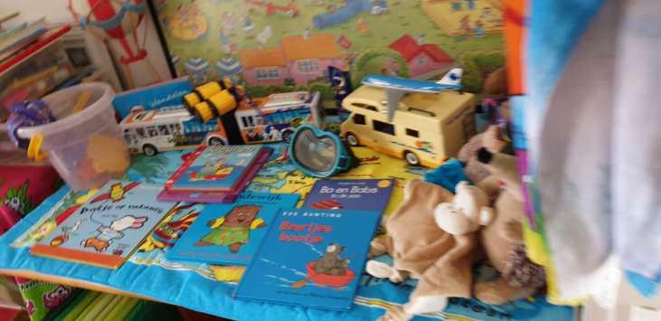 Ook Rani's Speelhuis Kiki de aap en de beren gaan de zomervakantie in.